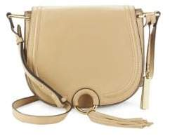 Vince Camuto Magnetic Leather Shoulder Bag