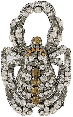 Rochas scarab beetle brooch