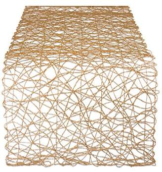 DII Woven Paper Decorative Table Runner for Holidays