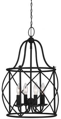 Co Darby Home Cottingham 4-Light Foyer Lantern Pendant