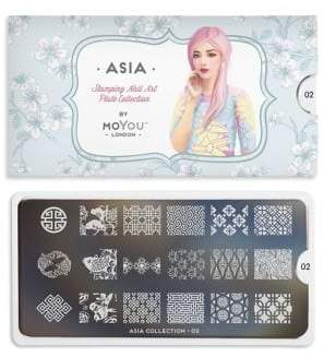 Lime Crime Asia Stamping Nail Art Plate Collection