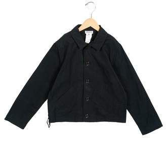 Sonia Rykiel Girls' Lightweight Button-Up Jacket