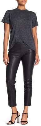 David Lerner Faux Leather Crop Pants