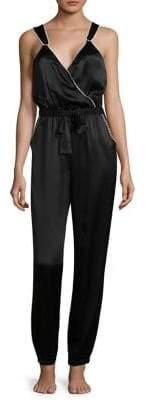 Morgan Lane Suki Silk Jumpsuit