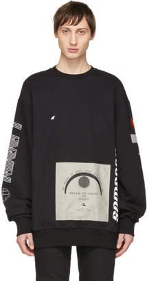 Lanvin Black Realm Of Chaos And Night Sweatshirt