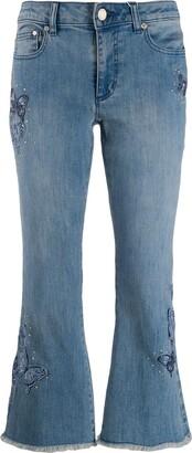 MICHAEL Michael Kors cropped jeans