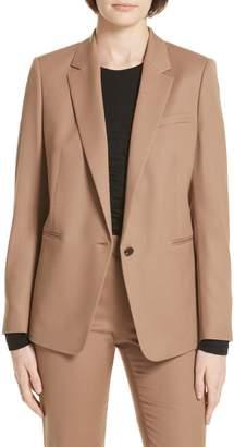 BOSS Janufa Stretch Wool Suit Jacket