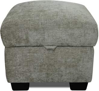 Argos Home Tammy Fabric Storage Footstool