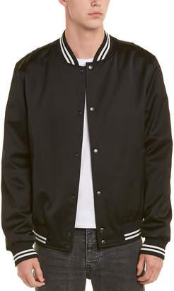 Vince Varsity Wool-Blend Jacket