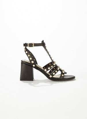 40ca3836e95 Miss Selfridge Block Heel Sandals For Women - ShopStyle UK