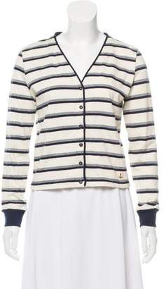 Armor Lux Striped Button-Up Cardigan w/ Tags