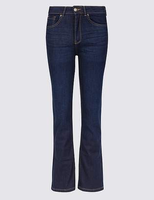 Marks and Spencer PETITE Mid Rise Flared Jeans