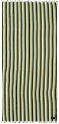 Prada muslin striped beach sarong