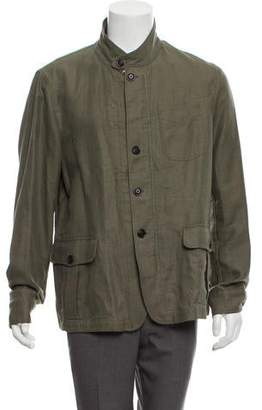 Todd Snyder Linen Utility Jacket