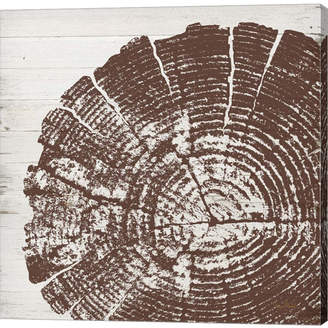 Metaverse Tree Rings Iii By Ramona Murdock Canvas Art