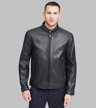 Andrew Marc HORACE CLASSIC LEATHER MOTO JACKET