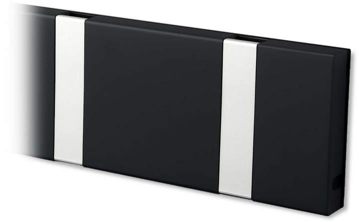 LoCa - Knax 10 Garderobenleiste, Schwarz / grau
