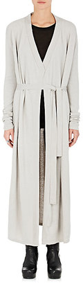 Rick Owens Women's Cashmere Belted Cardigan $2,500 thestylecure.com