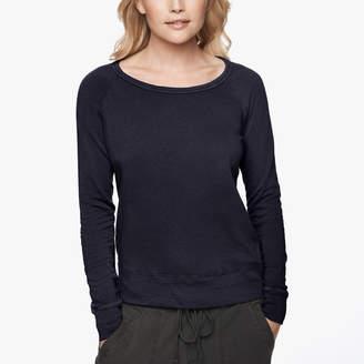 James Perse Vintage Fleece Long Sleeve Sweatshirt