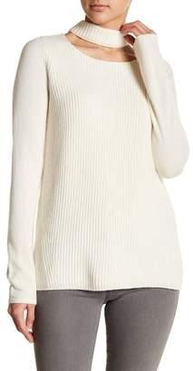 Fate Choker Neck Knit Sweater