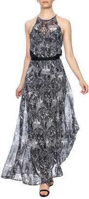 Cotton Club Printed Maxi