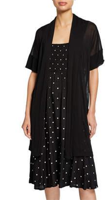 Masai Ilensa Short-Sleeve Semisheer Cardigan