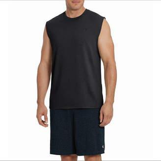 Champion Mens Crew Neck Sleeveless Muscle T-Shirt