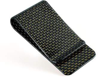 Christian Louboutin CABRONLIFE Carbon Fiber Glossy Money Clip CARBONLIFE® Credit Card Business Card Holder
