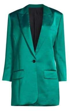 Image result for the kooples long line satin blazer