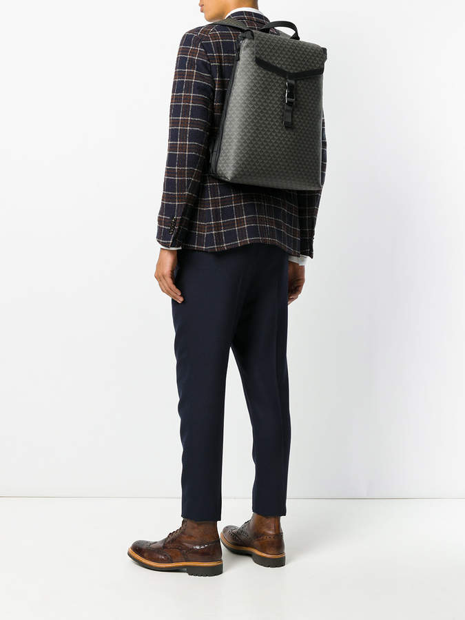 Emporio Armani all-over embossed backpack