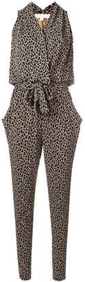 Michael Kors animal print jumpsuit