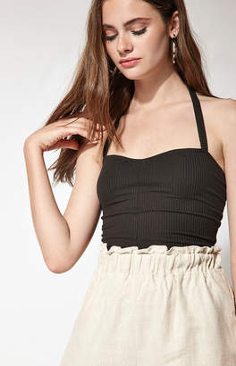 Proenza Schouler Basics By Pacsun Ribbed Halter Top