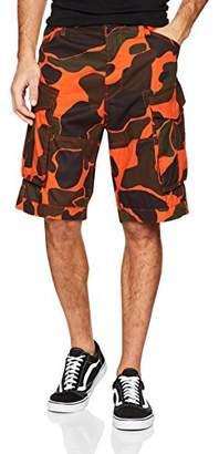 G Star Men's Rovic Loose 1/2 Short, (Tador Orange Ao 8162), (Size: )