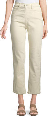 Derek Lam 10 Crosby Leah High-Rise Straight Jeans