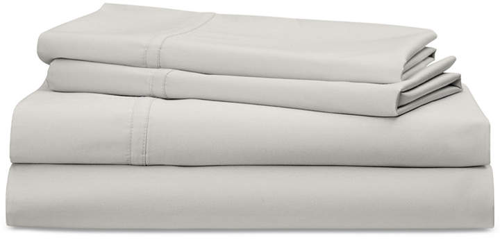 Spencer Cotton Sateen Count 4-Pc. Solid King Sheet Set Bedding