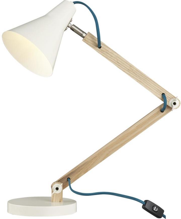 Crate & Barrel Rex Ivory Desk Lamp