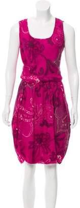 Lafayette 148 Sleeveless Printed Dress