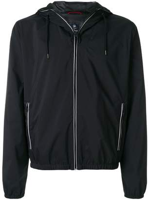 Fay hooded zipped jacket