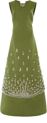 Zac Posen Embellished Gown