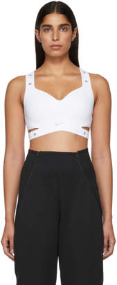 Nike White XX High Support Sports Bra