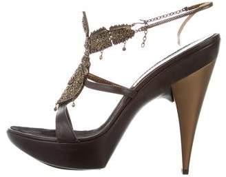 Giuseppe Zanotti Embellished Platform heels