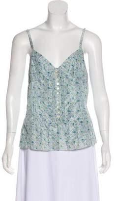 Marc Jacobs Floral Silk Top