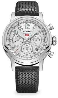 Chopard Mille Miglia Stainless Steel& Rubber Strap Watch