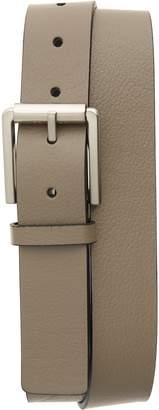 Calvin Klein Textured Faux Leather Belt