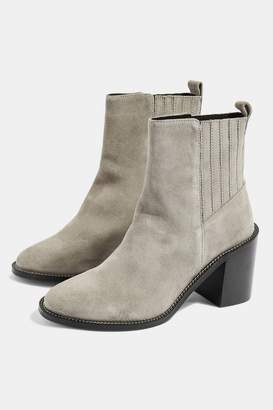 Topshop Womens MAX Chain Sole Boots
