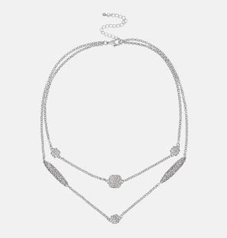 Avenue Diamond Chain Layered Necklace