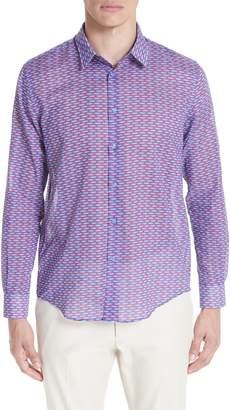 Vilebrequin Marbella Voile Print Sport Shirt