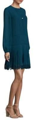 Tory Burch Sydney Pleated Sheath Dress