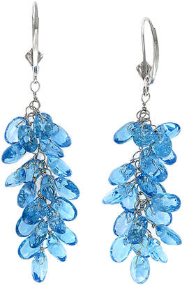 Effy Fine Jewelry 14K 21.67 Ct. Tw. Blue Topaz Drop Earrings