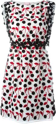 Giamba cherry print dress